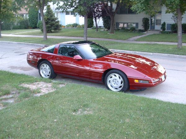 Kenora Corvette For Sale